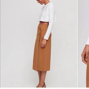 Aritzia Skirts - Artizia Babaton NWT midi skirt
